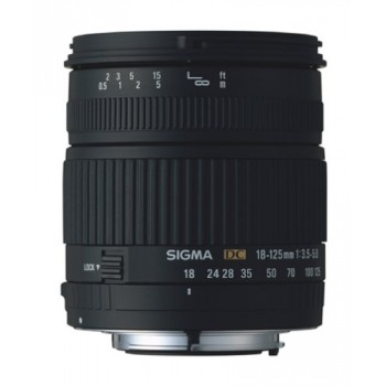 Sigma 18-125mm F3.5-5.6 DC (Nikon)