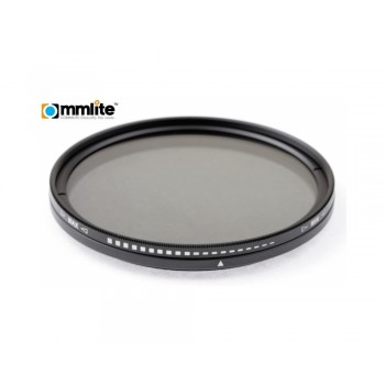 Commlite ND Fader NDx2 - NDx400 62mm