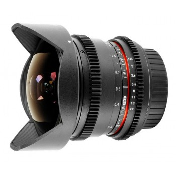 Samyang VDSLR 8mm T3.8 Fisheye Aspherical CS II (Micro 4/3)