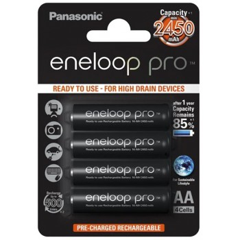 Panasonic Eneloop Pro AA/R6 2450 mAh 4 szt.