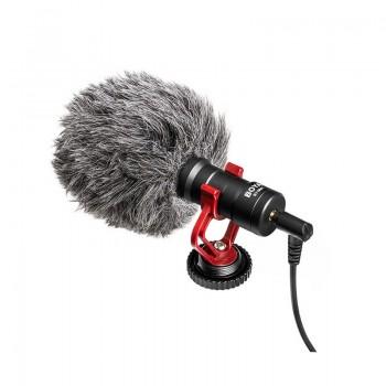 BOYA BY-MM1 Mikrofon pojemnościowy do kamer, lustrzanek, smartfonów