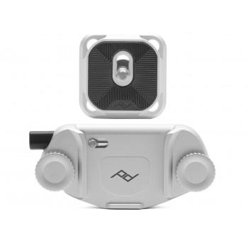 Peak Design Capture Camera Clip v3 z płytką standard (srebrny)