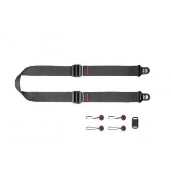 Peak Design Slide Lite v3 (czarny) Pasek na szyję lub ramię