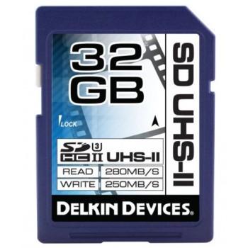 Delkin SDHC 32GB 2000X 280MB/s UHS-II V90