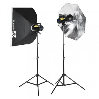 Quadralite Move X 300 Kit Zestaw lamp studyjnych