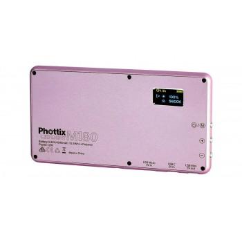 Phottix M180 Lampa Video Led Light (obudowa w kolorze różowe złoto)